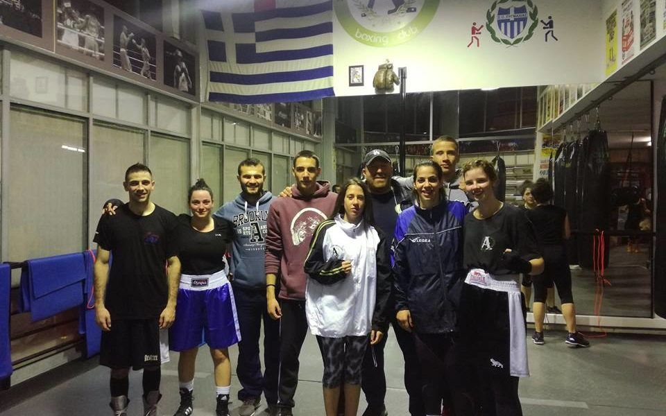 16th Training Sparring - Andreadis Boxing Club