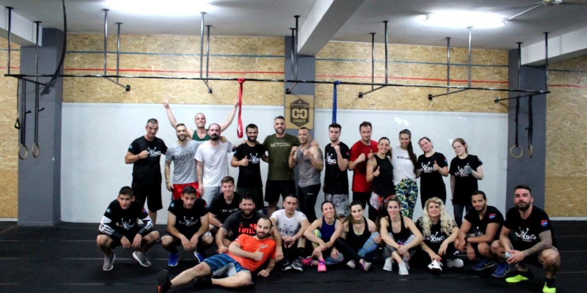CrossFit Training at Crossfit Coast